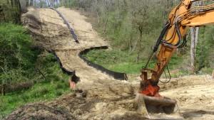 Protection cours d'eau après chantier